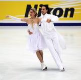 Tanith Belbin (USA) and Ben Agosto (USA) Stock Photo