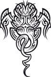 Taniwha pattern Stock Image