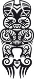 Taniwha tattoo design Royalty Free Stock Photography