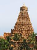 Tanjavur stor tempel Royaltyfri Fotografi