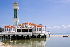 Tanjong Bunga Mosque Royalty Free Stock Photos