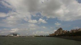 Tanjong Rhu Residential Luxury Condominiums in Singapore along Kallang River Basin Stock Photo