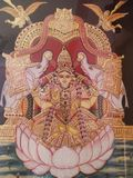 Tanjore painting stock photography