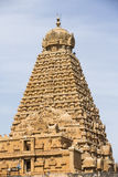Tanjore-Tempel Tami Nadu India Lizenzfreie Stockbilder