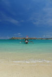 Tanjung Aan Lombok Royalty Free Stock Image