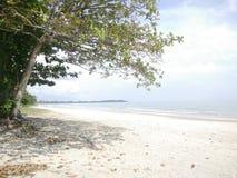 Tanjung Balau Beach Shot stock photography