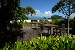 tanjung för strandlangkawi malaysia rhu Royaltyfria Bilder