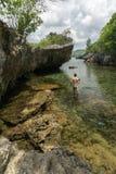 Tanjung Gaang Bawean, Gresik, Indonesien arkivfoto
