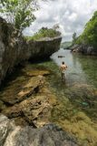 Tanjung Gaang Bawean, Gresik, Indonezja zdjęcie stock