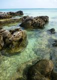 Tanjung gelam beach Royalty Free Stock Photos