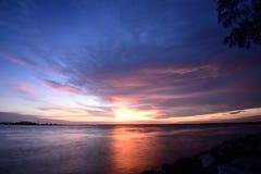 Tanjung Harapan Sunset Royalty Free Stock Image