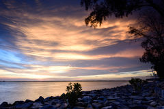 Tanjung Harapan Sunset Stock Image