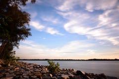 Tanjung Harapan Sunset Royalty Free Stock Photography