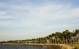 Tanjung lipat Kota Kinabalu Sabah op een zonnige dag Stock Fotografie