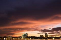 Tanjung Lipat Sabah Stockfoto