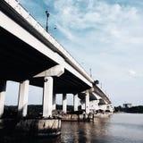 Tanjung Lumpur Bridge. Kuantan Pahang royalty free stock photography
