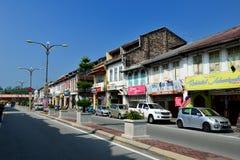 Tanjung Malim stad Arkivbilder