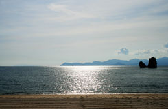 Tanjung Rhu Beach on Langkawi island Stock Image