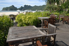 Tanjung Rhu Beach, Langkawi in Malaysia. Sunny day on a paradise island Royalty Free Stock Photo