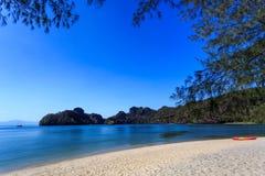 Tanjung Rhu Beach in Langkawi, Malaysia Royalty Free Stock Images