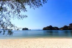Tanjung Rhu Beach in Langkawi, Malaysia Royalty Free Stock Image