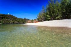 Tanjung Rhu Beach in Langkawi, Malaysia Royalty Free Stock Photos