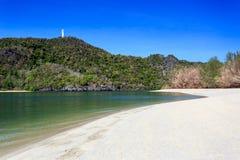 Tanjung Rhu Beach in Langkawi, Malaysia Stock Images