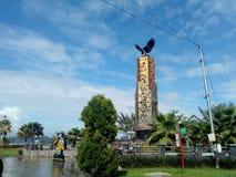 Tanjung Selor. Salah satu kota di kalimantan indonesia Stock Photos