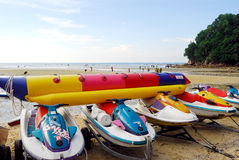 Tanjung Tuan Beach Stock Photo