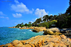 Tanjungpinang, isla bintan, riau kepulauan, Indonesia Fotografía de archivo libre de regalías
