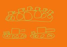 TankÐ ¡ ampaign Stock Illustrationer