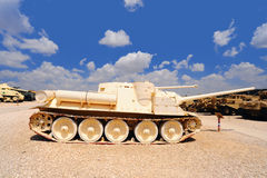 Tank. Memorial Site and the Armored Corps Museum in Latrun, Israel Royalty Free Stock Photography