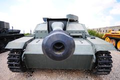 Tank. Memorial Site and the Armored Corps Museum in Latrun, Israel Royalty Free Stock Images