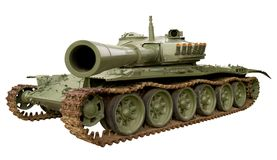 Tank. Isolated tank on white. Clipping path included stock image