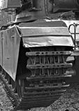 Tank. Black and white picture of a tank Stock Photo