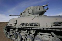 Tank. A secon wold war U.S. tank on display Stock Photo