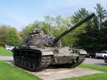 Tank. Rockland County's very own Old tank Royalty Free Stock Photography