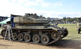 Tank. This centurion main battle tank mark 3 was involed in the South Vietnam War from 1970-1971. It was on display at the aunal Manilla, New South wales Stock Image