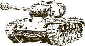 Tank 1 vector illustratie
