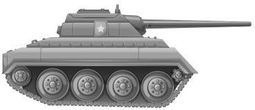 Tank royalty-vrije illustratie