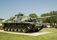 Tank. Outside a museum in Frankenmuth, Michigan Stock Images