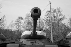 Tank. Barrel ww2 polish army stock image