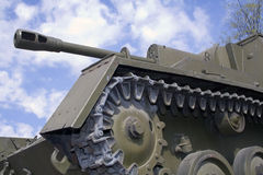 Tank. Soviet tank of the World War II royalty free stock photography