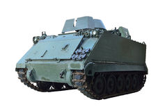 Tank. Armored vehicles, Tank isolated Stock Photo