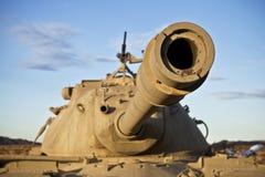 Tank Barrel. Close up of a desert tank barrel stock photography
