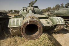 Tank barrel Stock Photos