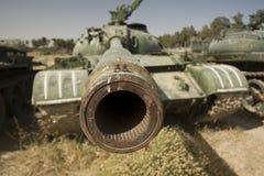 Tank barrel Stock Photos
