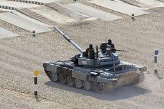 Tank biathlon Royalty-vrije Stock Foto