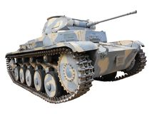 Tank in camouflage Royalty Free Stock Image