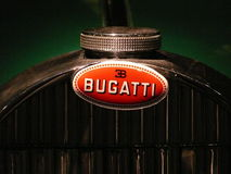 Tank cap of an old Bugatti type 45. Detail tank cap of an old Bugatti type 45 Royalty Free Stock Photography